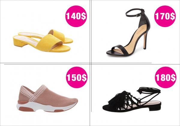 ae05e859d2eb2 مجلة زهرة السوسن - 3 ماركات أحذية مقبولة السعر... حليفة إطلالات ...