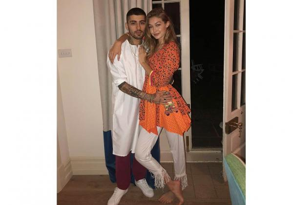 5d8ded685134d مجلة زهرة السوسن - جيجي حديد وزين مالك يحتفلان بعيد الأضحى مع العائلة