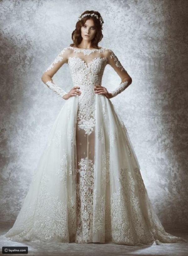 bf4da740a2203 ... فساتين زفاف detachable بتنانير صيحة عروس 2019. 240 أيام على النشر