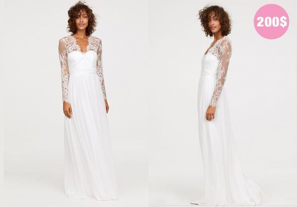 3fa464c53 مجلة زهرة السوسن - H&M تُطلق كبسولة فساتين زفاف لا يتجاوز سعرها الـ270 دولار